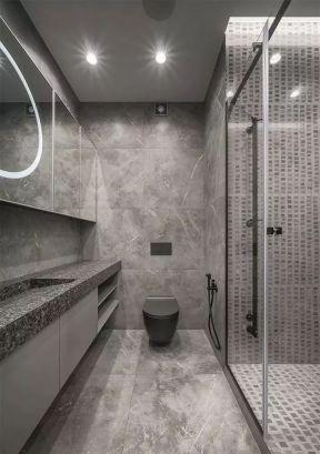 現代衛生間裝修效果圖大全 簡約衛生間裝修效果圖