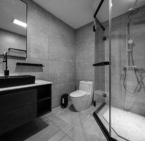 現代簡約風格衛生間淋浴房裝修效果圖-每日推薦