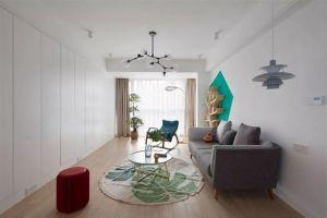云新三村简约风格123平米三居室装修案例