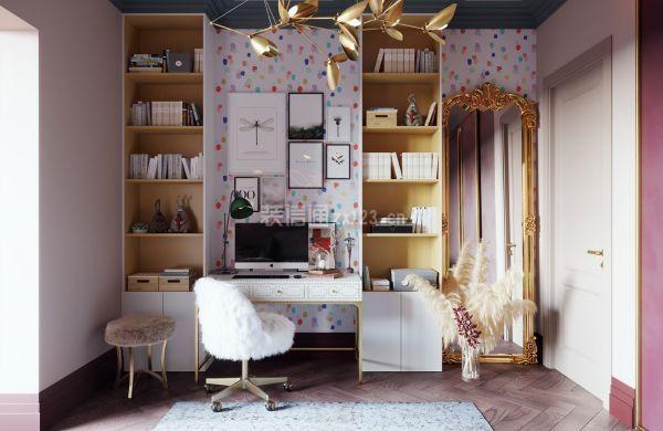 如果你是艺术从业者,新房可以考虑装欧式洛可可风格!图片