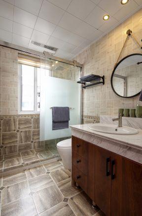 衛生間墻磚拼圖 衛生間設計裝修 衛生間墻磚裝修效果圖