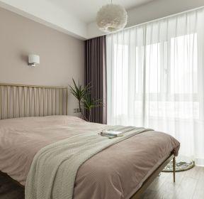90平米輕奢風格臥室裝修效果圖大全-每日推薦