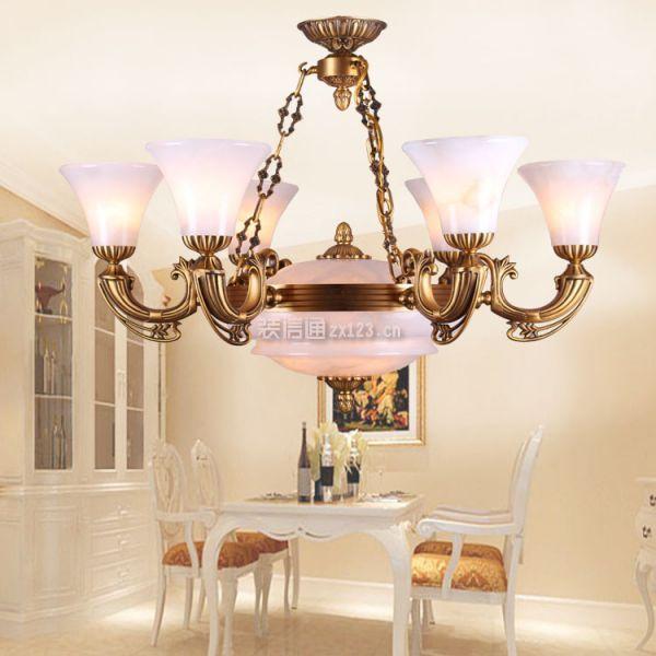 歐式餐廳燈具搭配