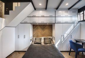 床頭柜設計 床頭柜裝修效果圖 小臥室裝修設計效果圖