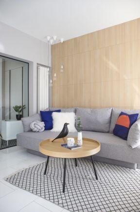 客廳背景墻裝飾設計 小型客廳裝修效果圖