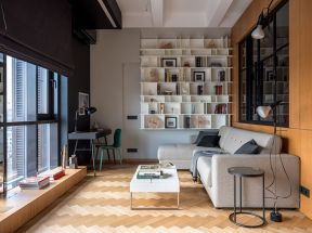 客廳收納柜 小型客廳裝修效果圖 小型客廳效果圖