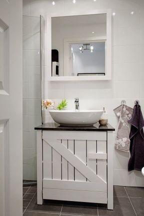 小型衛生間裝修效果圖大全 衛生間洗手臺裝修效果圖