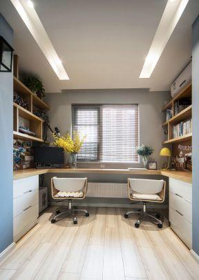 定制書桌效果圖 書房設計與裝修 書房設計效果圖