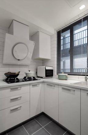 白色廚房櫥柜 廚房設計效果圖 廚房設計效果