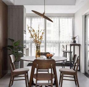 100平米房屋裝修餐廳圓餐桌設計效果圖-每日推薦