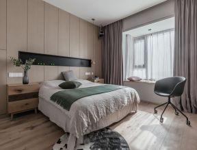 卧室床头衣柜效果图 卧室床头衣柜 简约卧室装修