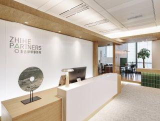 案例名称:合肥办公室现代风格200平米装修效果图案例