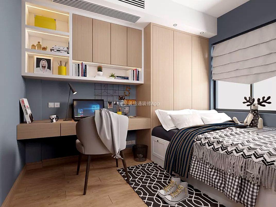 现代风格卧室榻榻米装修效果图片