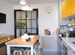 厨房餐厅一体,好看实用还省空间