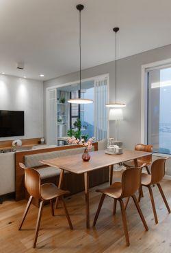 150平米新房餐廳吊燈裝修效果圖