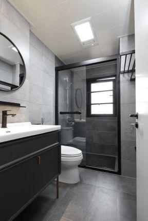 衛生間玻璃隔斷裝修效果圖片 現代衛生間裝修效果圖