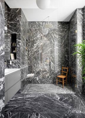 淋浴房隔斷效果圖  現代衛生間裝修設計