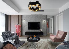 客廳電視墻裝修圖 現代客廳裝修設計 現代客廳裝修圖片