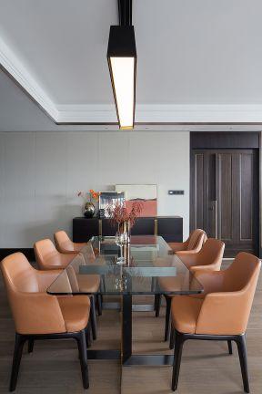 玻璃餐桌裝修效果圖片 玻璃餐桌圖片大全 家庭餐桌效果圖