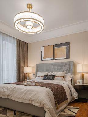 臥室吊燈大全 臥室吊燈設計 臥室吊燈效果 現代臥室裝修圖片大全