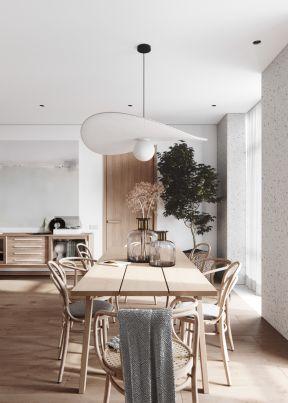 實木餐桌椅效果圖 餐桌椅設計