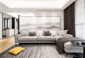 新中式客廳背景裝修效果圖 新中式客廳裝修圖 新中式客廳裝修風格