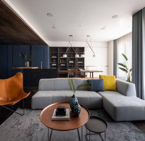 150平米混搭風格客廳裝修效果圖-每日推薦