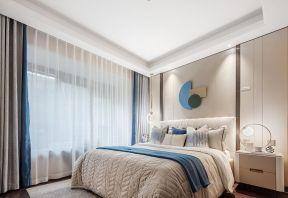 現代風格臥室背景墻效果圖片 現代風格臥室背景墻