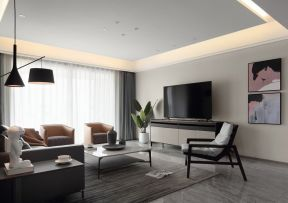 客廳電視柜效果 新房客廳裝修圖片