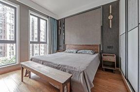 混搭風格臥室效果圖 臥室床尾凳臥室10平米裝修