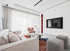 嵌入式電視墻 客廳電視墻設計 客廳電視墻圖片大全