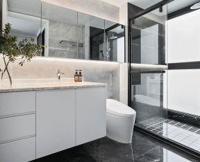 衛生間玻璃隔斷墻設計圖 衛生間玻璃隔斷墻圖片