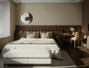 床頭軟包背景墻圖片 時尚臥室裝修效果圖片