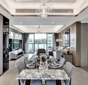 130平米現代新房餐廳裝修效果圖-每日推薦