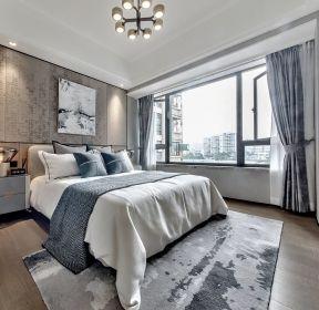130平米現代中式臥室裝修效果圖片-每日推薦