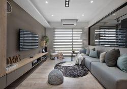 簡約風格客廳電視柜裝修效果圖大全2020
