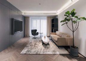 嵌入式電視墻 客廳電視墻圖片