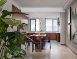 成都別墅開放式廚房餐廳裝飾設計圖