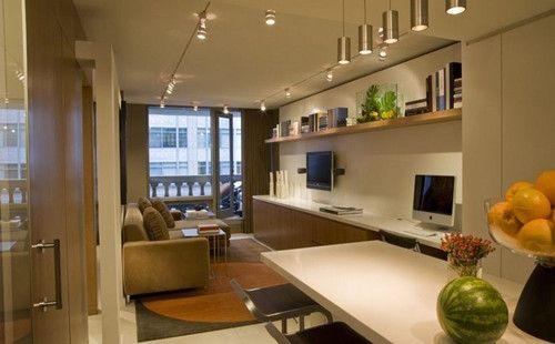 【广州品诚装饰】40平方米的小公寓装修 房子虽小温馨