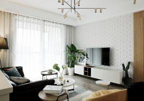 文化磚電視墻 客廳電視墻造型圖片 客廳電視墻造型圖