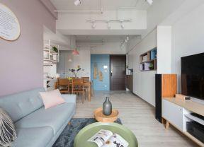 混搭客廳家裝效果圖 混搭客廳裝修 客廳沙發實景圖
