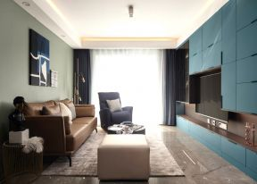 混搭客廳裝修 電視墻造型裝修 電視墻造型效果圖