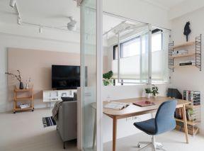 客厅书房隔断ballbet贝博网站效果图 客厅书房隔断设计