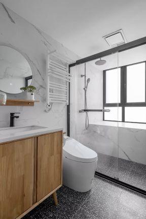 卫生间玻璃隔断ballbet贝博网站效果图 卫生间玻璃隔断ballbet贝博网站效果图片