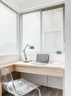 阳台书桌设计图片 阳台书桌图片