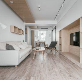 80平米兩居室客廳沙發裝修效果圖-每日推薦