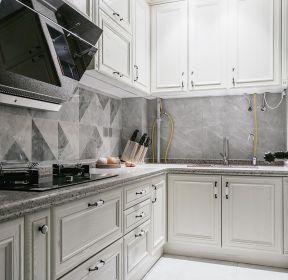 80平米轻奢风格厨房ballbet贝博网站设计效果图-每日推荐