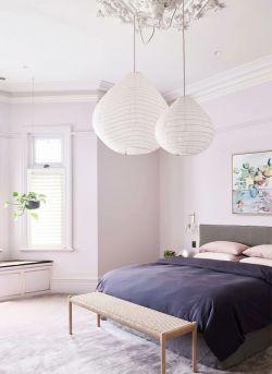 2020歐式風格臥室吊燈裝修設計圖片