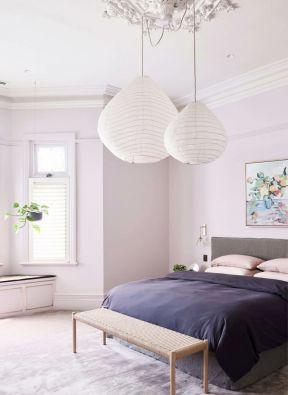 卧室吊灯效果图 欧式风格卧室ballbet贝博网站图片
