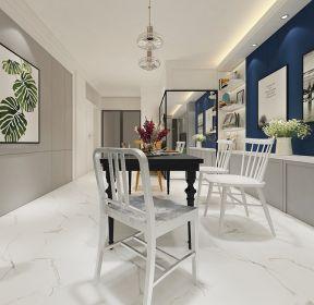 100平米三居室北欧风格餐厅ballbet贝博网站效果图-每日推荐